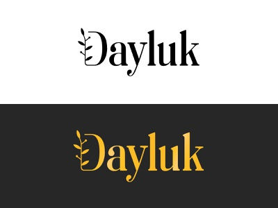 Dayluk   Fashion graphic design illustration design branding modern logo fashionlogo simple logo logo creative simple modern feminim feminine logo fashion clean brand identity brand design brand