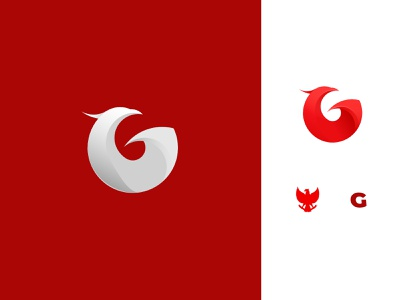 Letter G + Garuda masculine eagle icon simple logo indonesia garuda animation graphic design ux vector ui logo illustration design creative clean branding brand identity