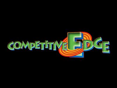 Competitive Edge Logo Design cartoon sticker vector illustration cute cartoon stickers logo illustration design cartoon vector