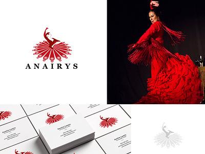 Anairys Logo Design unique creative logo design illustration typography logo branding vector