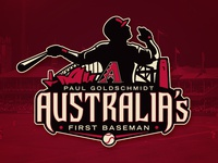 Paul Goldschmidt - Australia's First Baseman