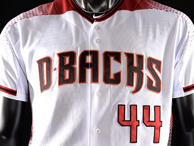 2016 Arizona Diamondbacks Home Uniform