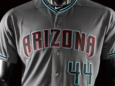 size 40 13a35 fecd0 2016 Arizona Diamondbacks Road Alternate Uniform by Zach ...