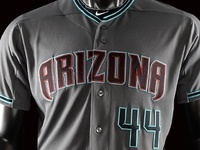 2016 Arizona Diamondbacks Road Alternate Uniform