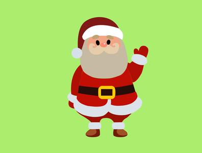 Santa Claus illustration vector photoshop illustrator design