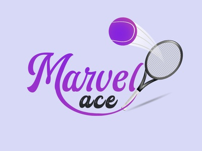 racket and ball logo