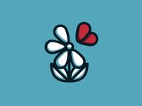 flower charity logo