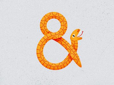 Ampersand snake