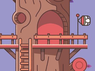 The inner tree fort