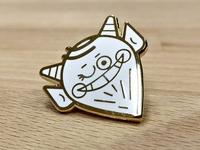 Cheeky Devil Enamel Pin