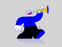 Trumpet dude