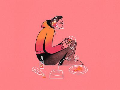 G - Gamer // 36daysoftype 2019 gamer gaming ipad procreate design character animated type illustration