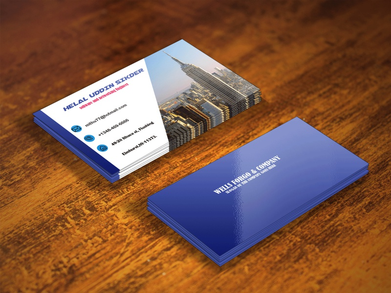 2nd business card mock up nafsan graphicdesign