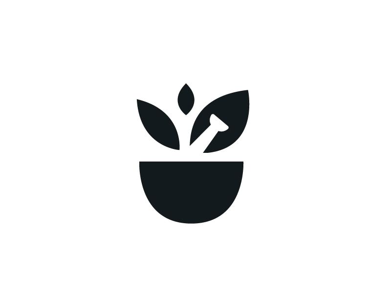 Bell Pharmacy 2 (Unchosen) logo branding icon mark design shape leaf pestle mortar