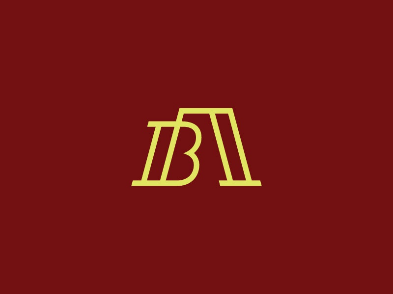 Boswell Aiosa & Co. Logo (Unchosen) build building house home realty real estate iconic skeleton line linear b a