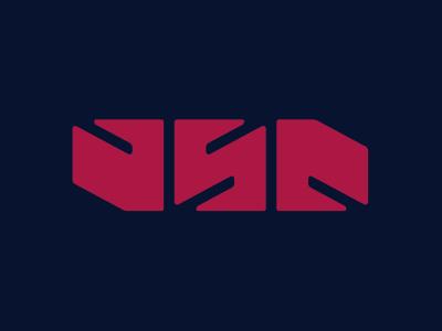 USA logotype logo typography type patriot murcia america use us ambigram