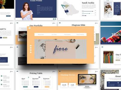 Fiore Creative Presentation creative templete presentation template branding presentation layout presentation design presentation graphic design