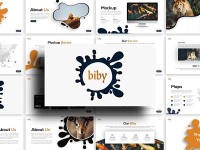 Biby Fauna Presentation fauna creative templete presentation template branding presentation layout presentation design presentation graphic design