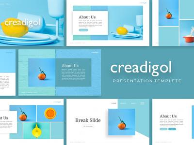Creadigol Creative Presentation creative templete presentation template branding presentation layout presentation design presentation graphic design