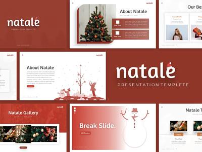 Natale Christmas Presentation christmast presentation christmas natale creative templete branding graphic design presentation template presentation layout presentation design presentation