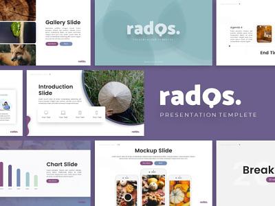 Rados Creative Presentation rados creative templete branding graphic design presentation template presentation layout presentation design presentation