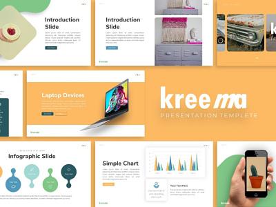 Kreema Creative Presentation kreema creative branding templete graphic design presentation template presentation layout presentation design presentation