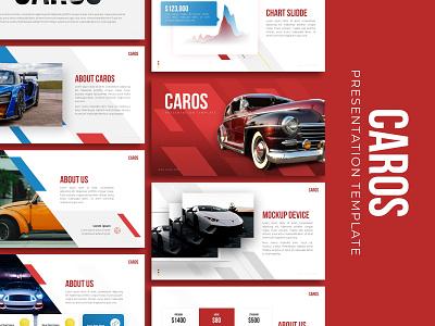 Caros Creative Presentation car powerpoint presentation template branding presentation layout presentation design graphic design presentation