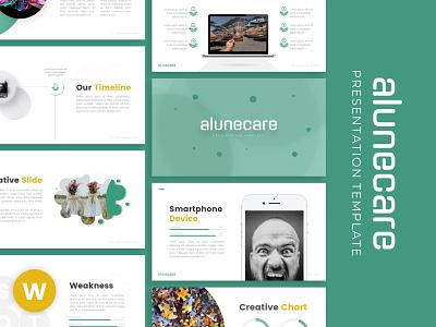 Alunecare Creative Presentation powerpoint creative templete presentation template branding presentation layout presentation design presentation graphic design