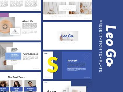 Leo Go creative Presentation powerpoint creative templete presentation template branding presentation layout presentation design presentation graphic design