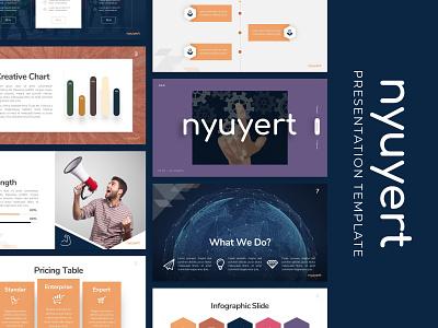 Nyuyert Creative Presentation presentation powerpoint powerpoint creative templete presentation template branding presentation layout graphic design presentation design presentation