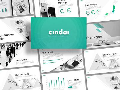 Cindai Creative Presentation powerpoint creative templete branding presentation template presentation layout presentation design graphic design presentation