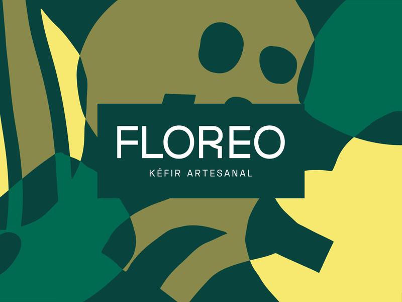 Floreo diary fruits typogaphy