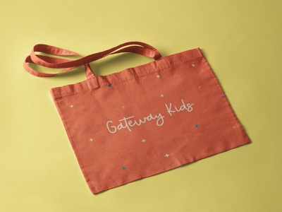 GWK stars bag tote brand