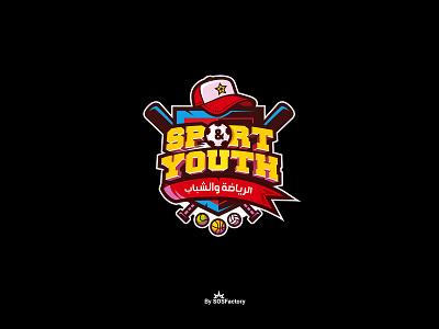 Sport & Youth Logo sports design sports branding sports logo