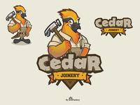 Cedar Joinery logo design