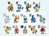 SPL Team Mascots