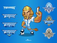 Pyramids FC Brand Identity kit