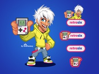 Brand Identity Kit for Retro Six