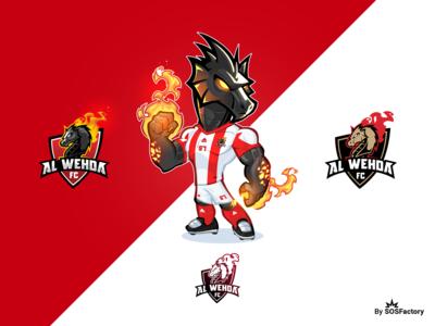 Al Wehda FC Brand identity Kit