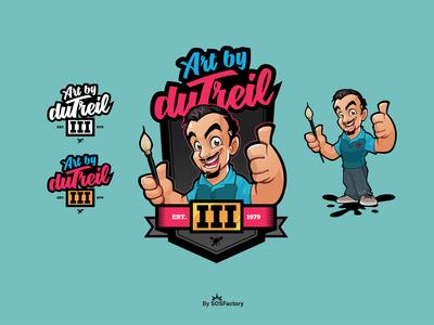 Art by Dutreil brand identity
