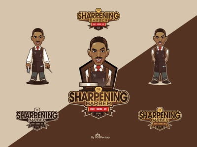 The Sharpening Barber