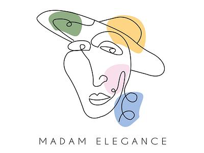 Monoline madam elegance  Design concept illustrations follow4follow followme monogram monoline sketch drawing designconcept logoconcept logodesigner logomaker designer design