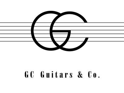 GC guitars & co. Design concept adobe illustrator art needlogo createlogo guitars guitarlogo brandconcept branding brand designconcept logoconcept logo designer design