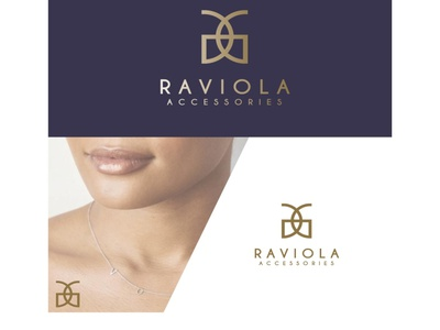 RAVIOLA ACCESSORIES design concept designconcept fashiondesigner logo branding brand design logodesigner graphicdesigner designer businessbranding