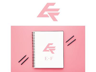 EF LABEL design concept logo monogram illustration logodesigner designconcept logomaker businessbranding branding graphicdesigner designer