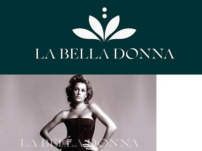 La Bella Donna design concept fashiondesigner designconcept illustration artwork logobranding branding graphicdesigner logodesigner logo design