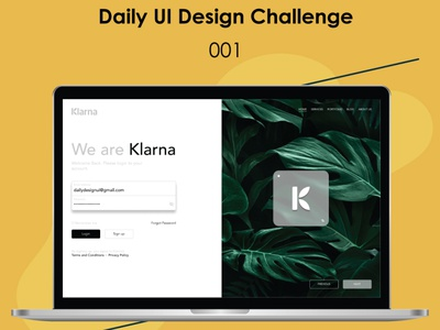 Sign in Page_DUIDC graphic design ui