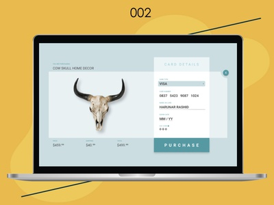 Checkout Page UI graphic design ui