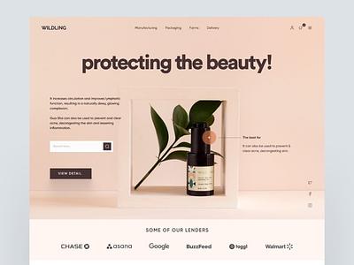 #11 - Concept Website Design Shot minimal clean web website design webapp ux design product design visual design pwa animation ux vector illustration freelance ui logo flat design branding app