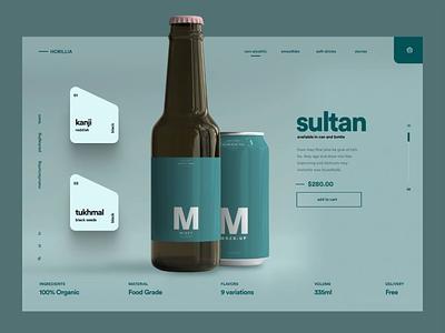 #17 - Concept Website Design Shot web design animation webapp mobile visual design product design website clean web research typography pwa ux illustration minimal freelance ui logo design branding app